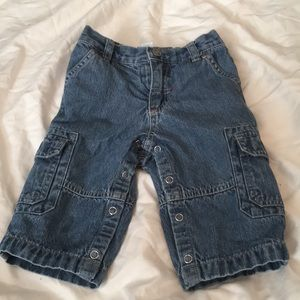 Carter's lined cargo jeans